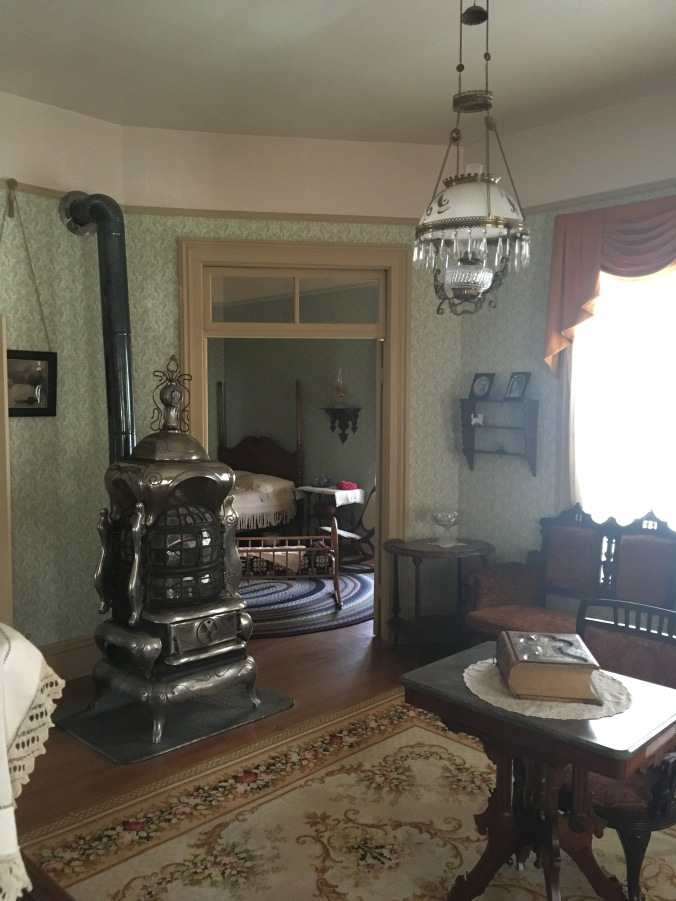 Living room of Willa Cather childhood home