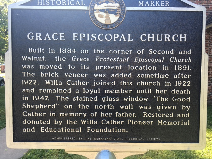 Sign for Grace Episcopal Church