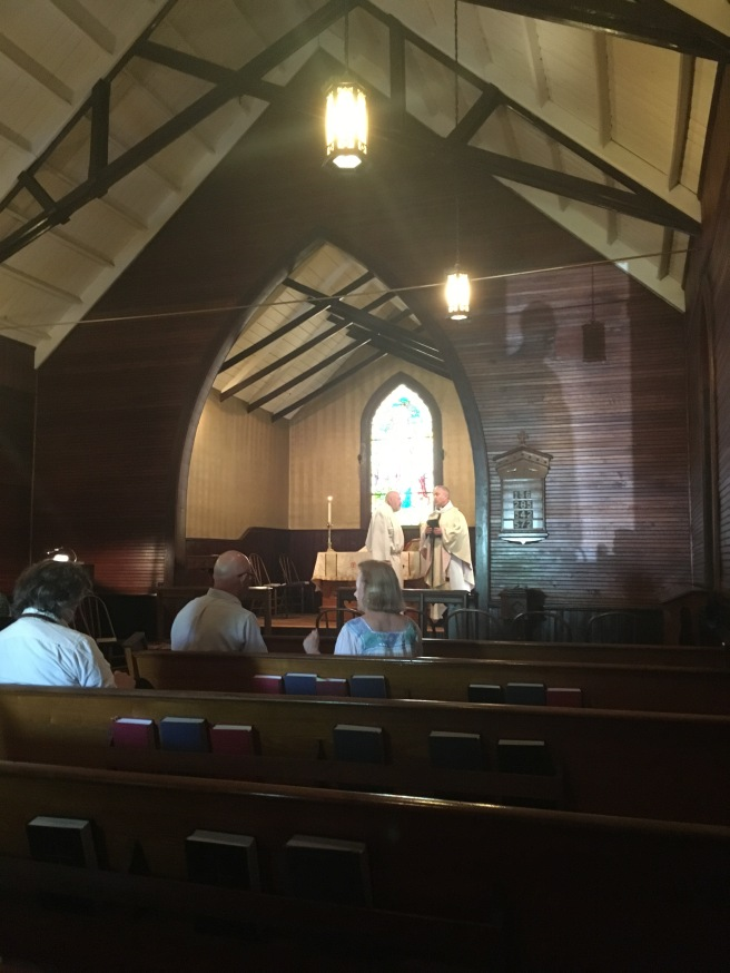 Inside Grace Episcopal Church